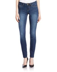 William Rast - Blue Stretch-knit Jeggings - Lyst