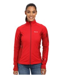 Marmot | Red Leadville Jacket | Lyst