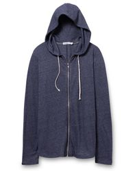 Alternative Apparel | Blue Eco-mock Twist Zip Hoodie for Men | Lyst