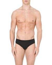 Hanro - Black Basic Cotton Briefs - For Men for Men - Lyst