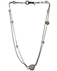 Beth Orduna - Gray Pearl Double Chain Link - Lyst