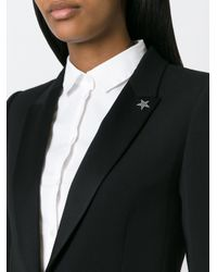 Saint Laurent | Black Star Pin | Lyst