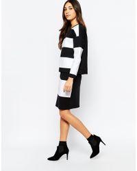 Soaked In Luxury - Black Oaked In Luxury Monochrome Stripe Top - Lyst