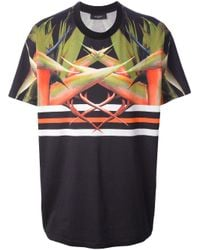 Givenchy Bird Of Paradise Print Tshirt in Black for Men - Lyst