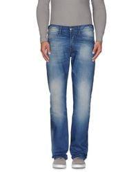True Religion - Blue Denim Pants for Men - Lyst
