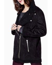 Nasty Gal - Black Unif Prana Coat - Lyst