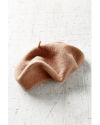Urban Outfitters | Brown Classic Wool Beret | Lyst