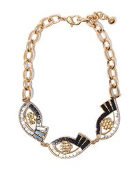 Lulu Frost - Metallic Gold-plated Lumen Necklace - Lyst