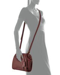 Etienne Aigner - Red Epic Leather Shoulder Bag - Lyst