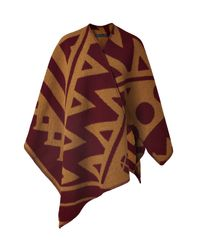 Burberry Prorsum - Natural Woolcashmere Poncho - Lyst