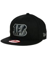 KTZ - Cincinnati Bengals Black Gray 59fifty Hat for Men - Lyst