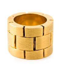 Acne Studios - Metallic 'Elisa' Ring - Lyst