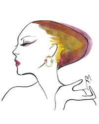 Lizzie Fortunato | Metallic Harajuku Hoop Earrings | Lyst