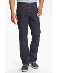 Cutter & Buck | Black 'madison Park' Relaxed Fit Jeans for Men | Lyst