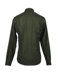 Orlebar Brown - Green Long Sleeve Shirt for Men - Lyst