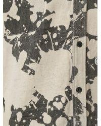 KTZ - Black Bleached Shortsleeved Shirt for Men - Lyst