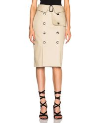 Each x Other - Natural Trench Skirt - Lyst