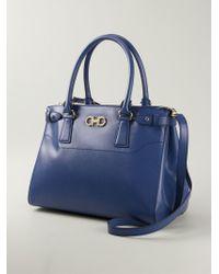 7b19a2f6f9 Lyst - Ferragamo  batik  Crossbody Bag in Blue