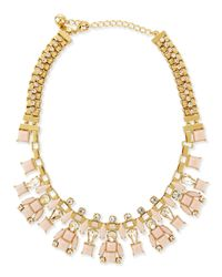 kate spade new york | Metallic Turn Heads Statement Necklace | Lyst