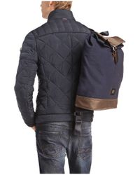 BOSS Orange - Blue Iridescent Quilted Jacket: 'oprato' for Men - Lyst