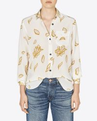 Billy Reid - White Williams Shirt - Lyst