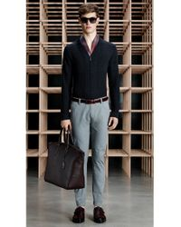 BOSS - Red Belt In Smooth Leather: 'lavior' for Men - Lyst
