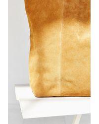 BDG | Brown Suede Tote Bag | Lyst