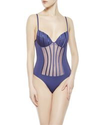 La Perla | Blue Swimsuit | Lyst
