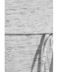 Eberjey - Gray Bleached Out Slub Jersey Jumpsuit - Lyst
