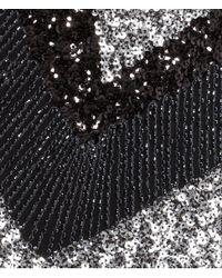 H&M - Black Sequined Skirt - Lyst
