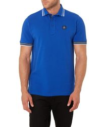 Duck and Cover - Blue Duran Short Sleeve Classic Polo Shirt for Men - Lyst