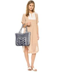 Sea - Natural Silk & Lace Dress - Lyst