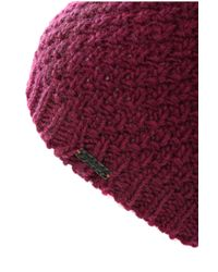 BOSS Orange - Pink Knitted Hat In A Fabric Blend: 'faresi' - Lyst