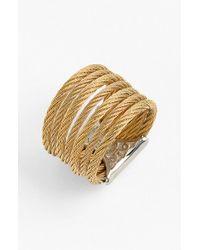 Alor | Metallic 'classique' Stack Ring | Lyst