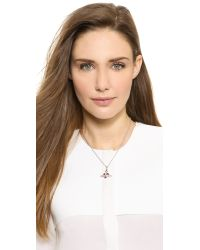 Vivienne Westwood - Metallic Heart Orbit Necklace - Lyst