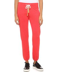 Sundry | Orange Basic Sweatpants - Sunset | Lyst