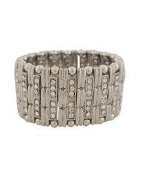 Forever 21 | Metallic Art Deco Bracelet | Lyst