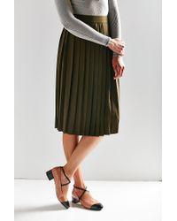 Urban Outfitters - Black Eva Colorblock Heel - Lyst