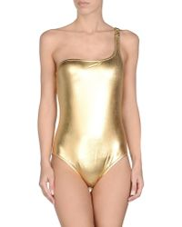 Moschino - Metallic Costume - Lyst