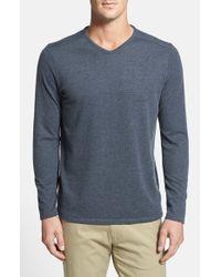 Tommy Bahama | Blue 'sedona Sands' V-neck Sweater for Men | Lyst