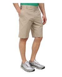 Adidas Originals - Natural Flat Front Tech Short '16 for Men - Lyst