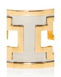 Monica Sordo - Metallic M'o Exclusive: Ducane Gold And Ruthenium Cuff - Lyst