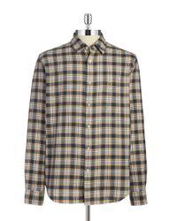 Lacoste | Brown Cotton Sportshirt for Men | Lyst