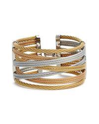 Alor | Metallic Wide Woven Bracelet | Lyst