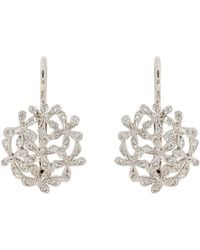 Cathy Waterman - White Baby'S Breath Drop Earrings - Lyst