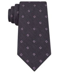 Michael Kors | Gray Michael National Square Tie for Men | Lyst