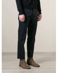 Lagerfeld - Blue Tailored Trouser for Men - Lyst