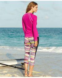 Nike - Pink Long-sleeve Logo Rashguard - Lyst