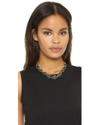 House of Harlow 1960 | Del Sol Reversible Station Necklace - Black Multi | Lyst