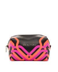Trina Turk | Pink Geo Canyon Cosmetic Bag | Lyst